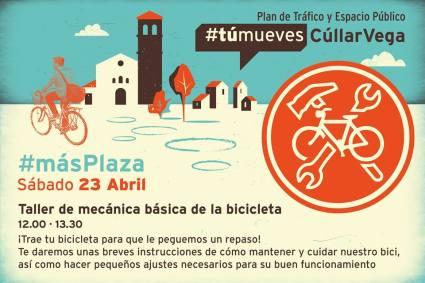 TAller bici 23 abril mueves cullar vega