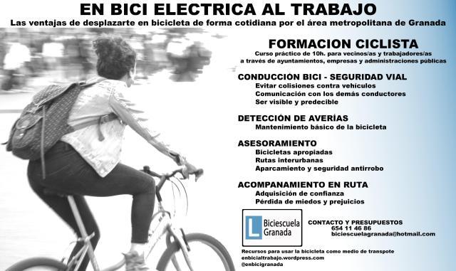 EnBiciEléctricaAlTrabajo