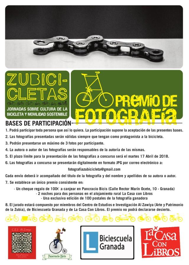 cartel premio fotografía zubicicletas